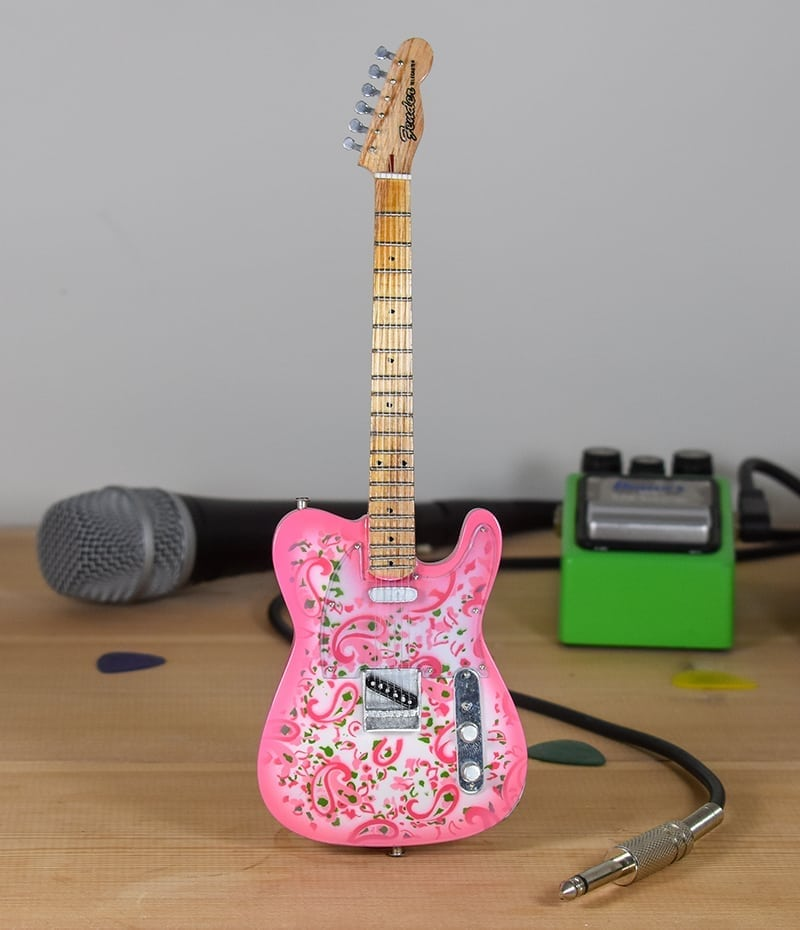 Paisley (pink) - Fender Telecaster
