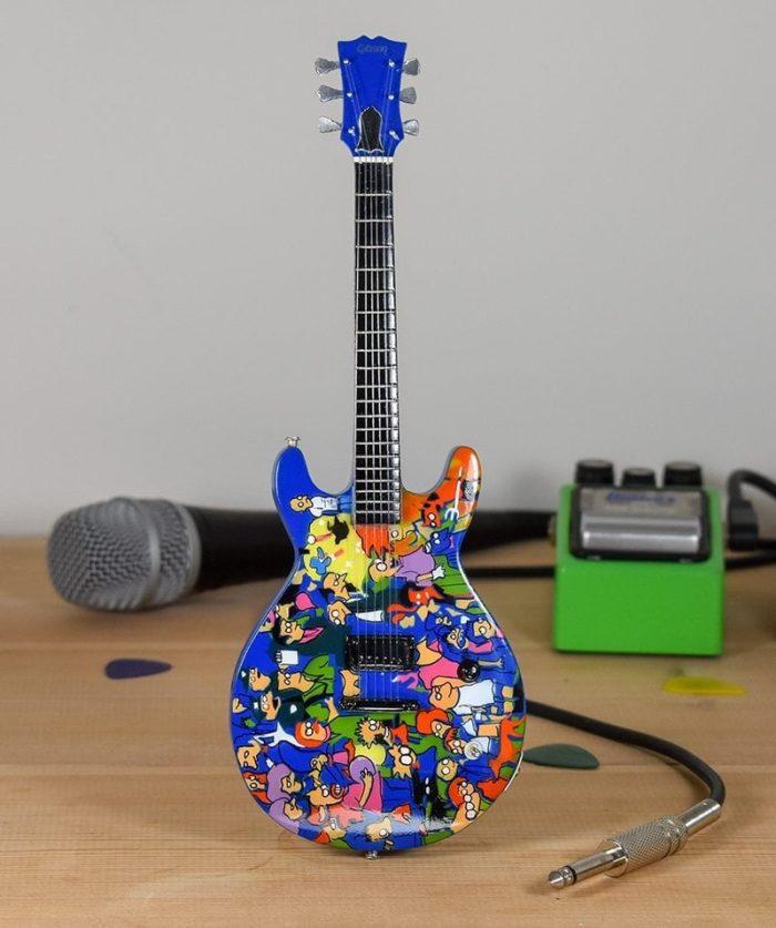 Anthrax, Scott Ian - Simpsons Guitar