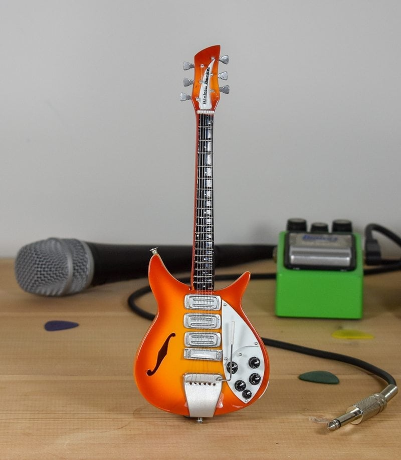 John Lennon - Rickenbacker 325 Fireglo