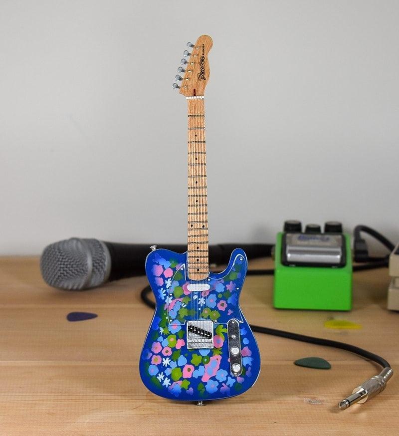Fender Telecaster - (blue Flower)