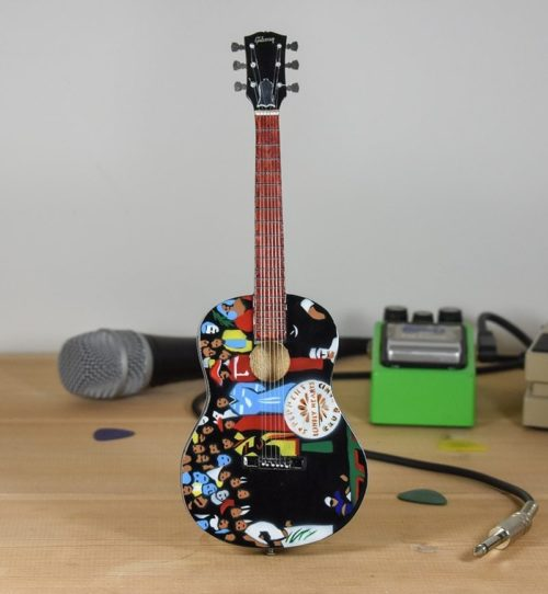 The Beatles, Sergeant Peppers Tribute - Custom Gibson Acoustic