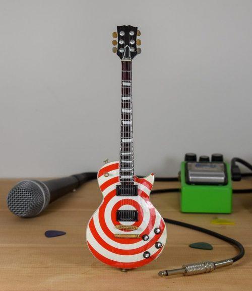 Ozzy Osborne, Zakk Wylde - Red / White Gibson Les Paul