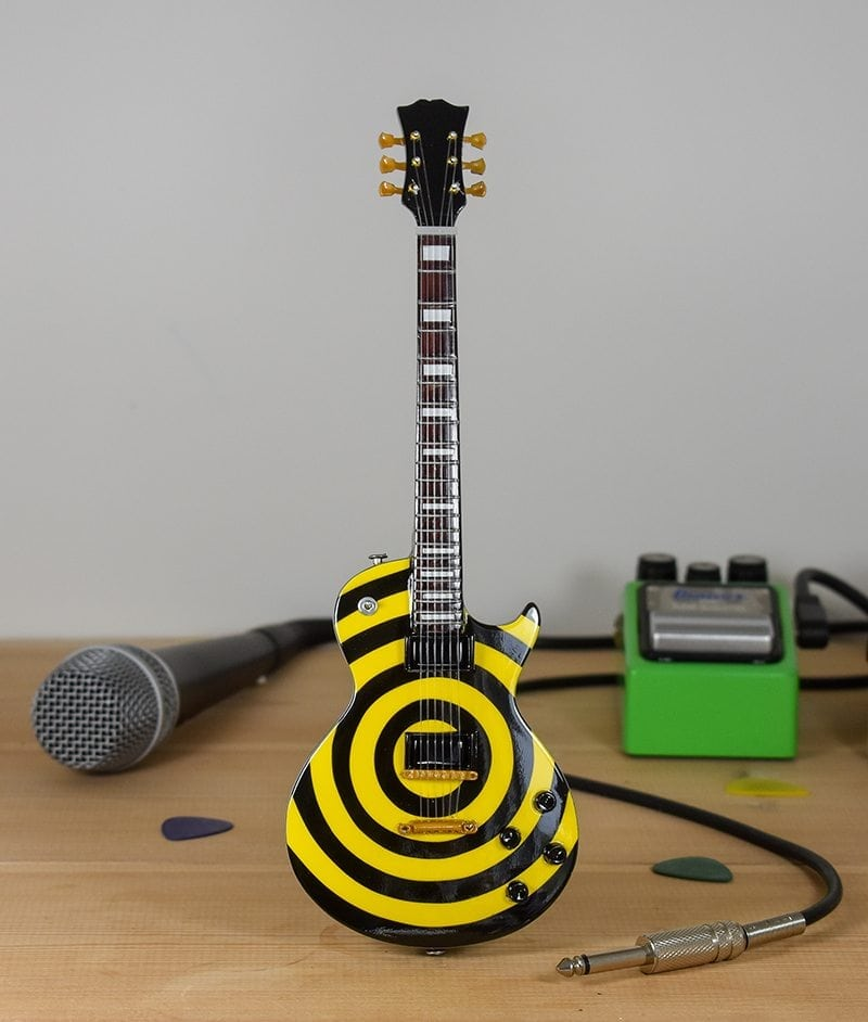 Ozzy Osborne, Zakk Wylde - Yellow / Black Gibson Les Paul