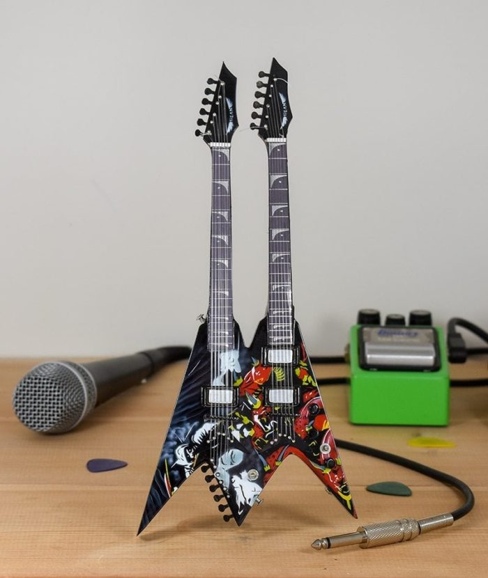 Megadeth, Dave Mustaine - Diadem Twin Neck