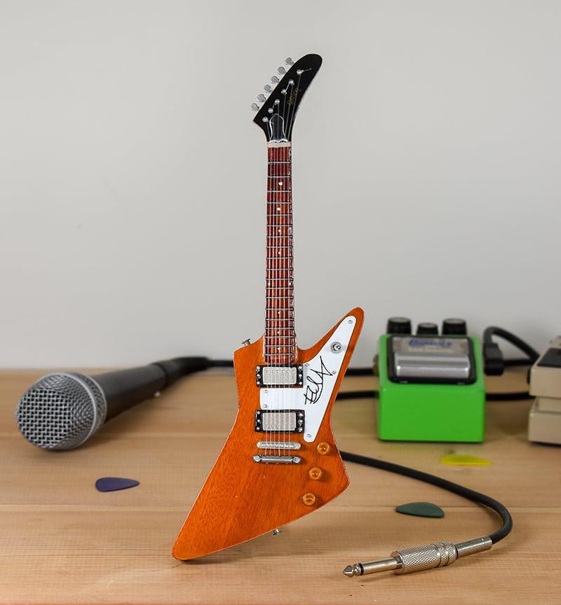 U2, The Edge - Gibson Explorer