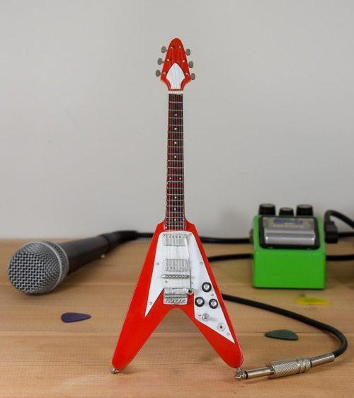 Gibson Flying V (red)