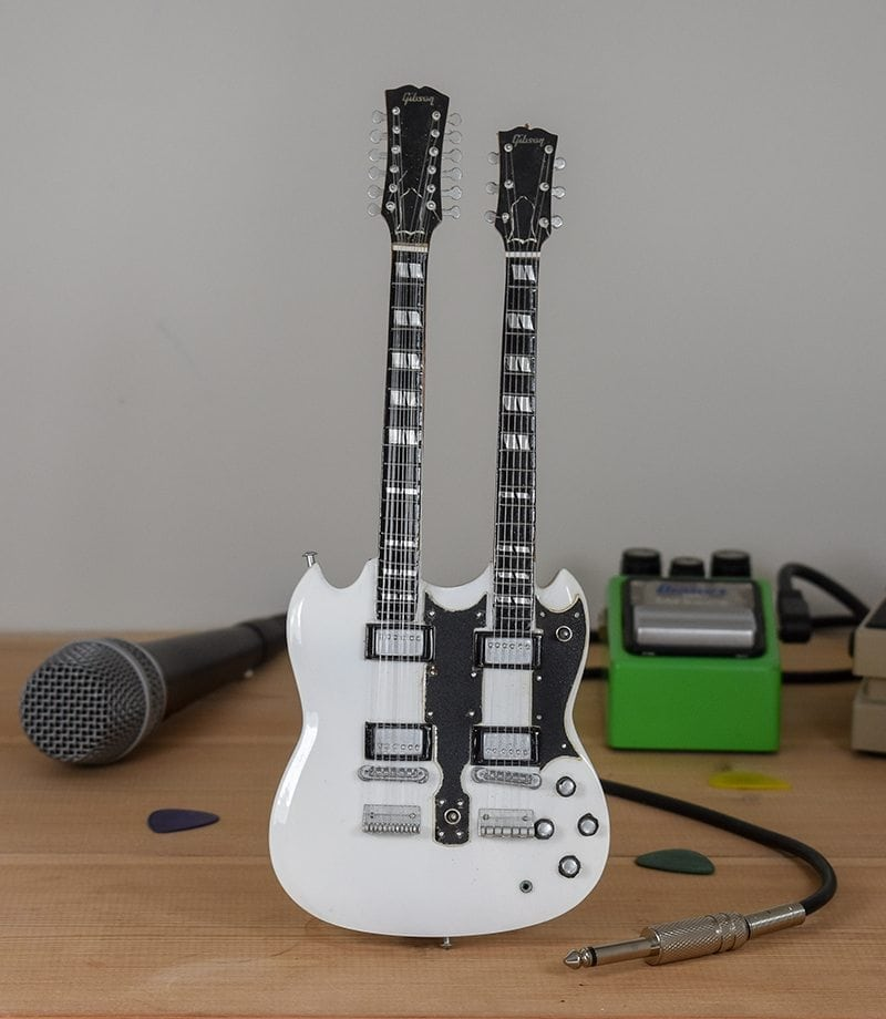 Rush, Alex Lifeson - Gibson SG Standard Twin Neck