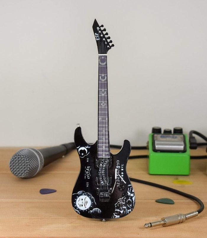 Metallica, Kirk Hammet - ESP Ouija (black)