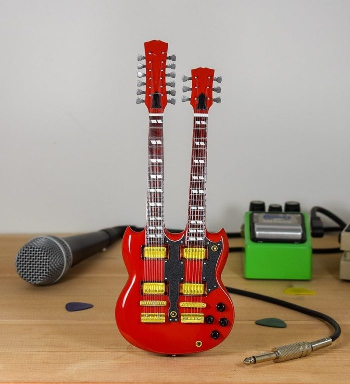 Led Zeppelin, Jimmy Page - Gibson SG Twin-neck (gold trim)