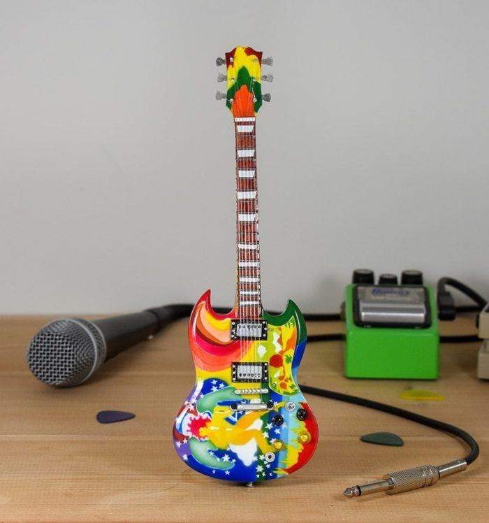 Eric Clapton, Psychedelic - Gibson SG