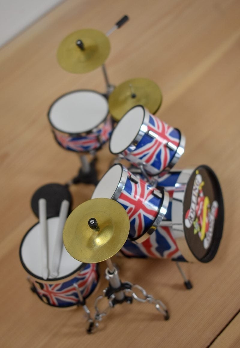 The Rolling Stones Drum Kit (small)