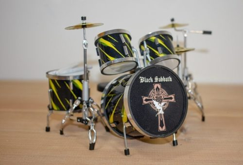 Black Sabbath Drum Kit (small)