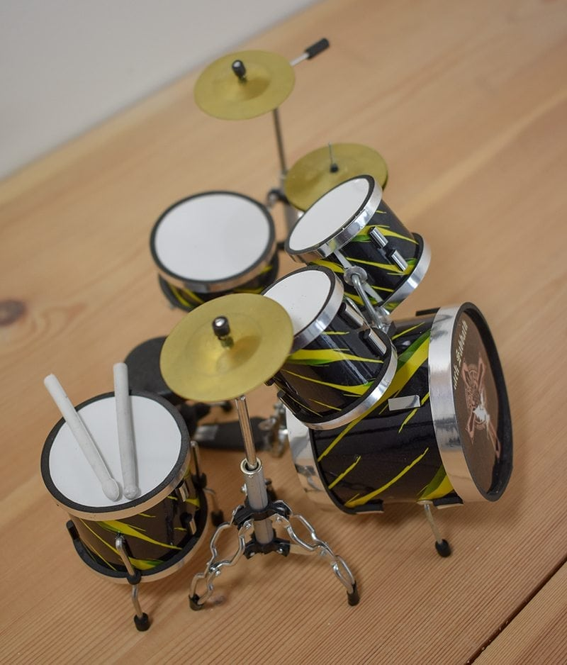 Black Sabbath Drum Kit (small)