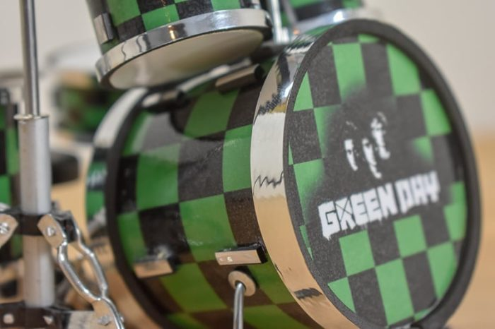 Green Day Drum Kit (small)