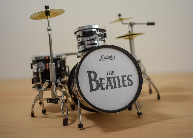 The Beatles Drum Kit (small)