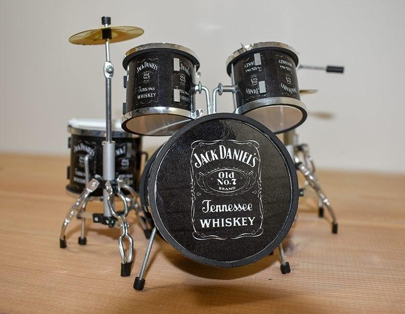 Jack Daniels Drum Kit
