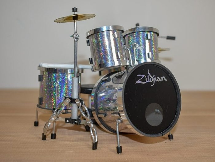 Zildjian Drum Kit (silver)