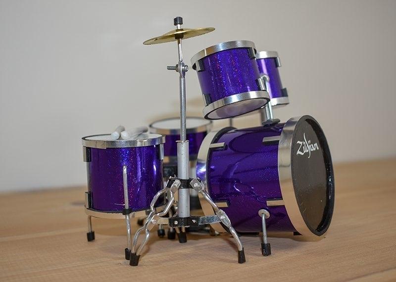 Zildjian Drum Kit (purple)