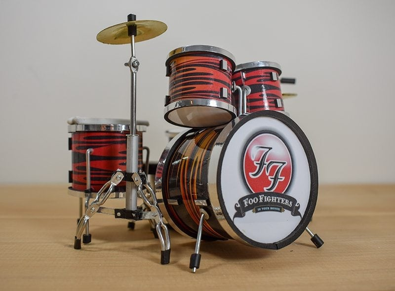 Foo Fighters Drum Kit (small)