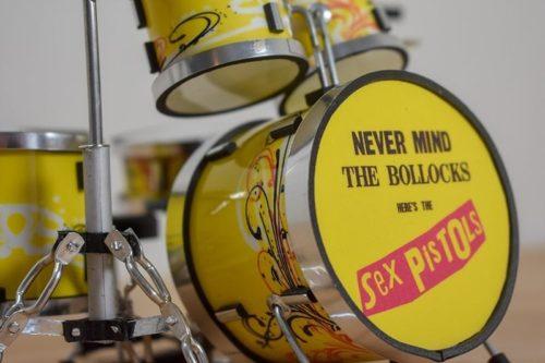 Sex Pistols Drum Kit (small)