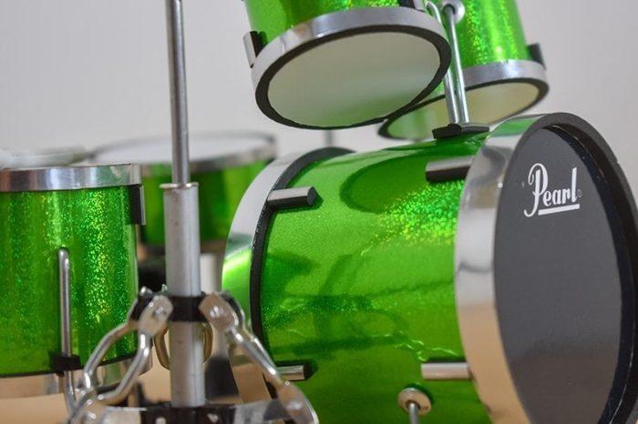 Pearl Drum Kit (green)