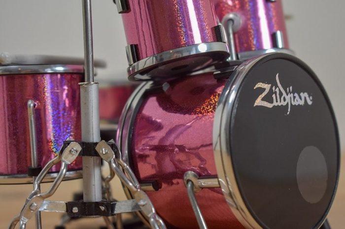 Zildjian Drum Kit (pink)