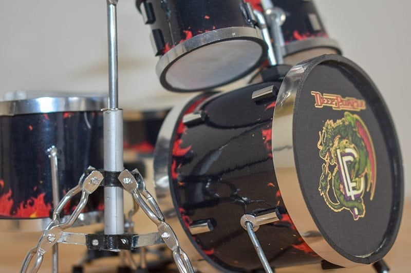 Deep Purple Drum Kit (small)