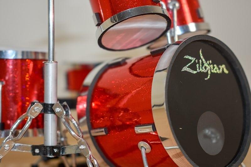 Zildjian Drum Kit (red)