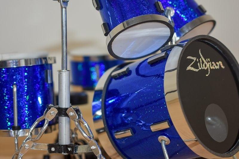 Zildjian Drum Kit (blue)