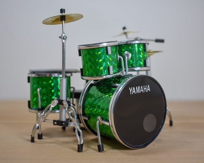 Yamaha Drum Kit (green)
