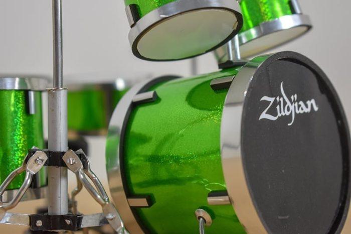 Zildjian Drum Kit (green)