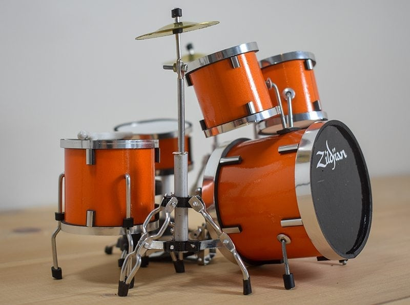 Zildjian Drum Kit (orange)