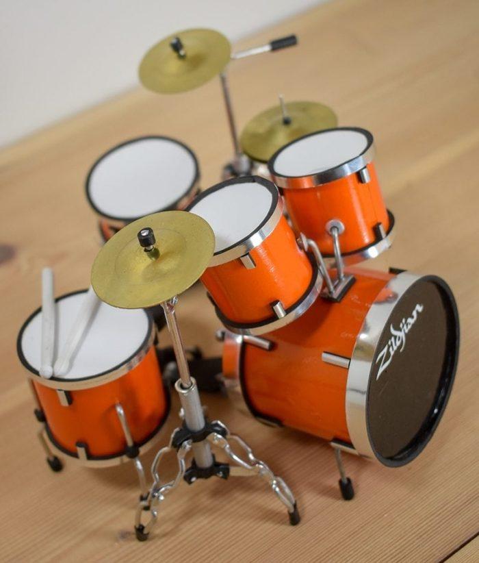 Zildjian Drum Kit (orange)